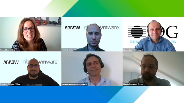panel arrow nts vmware